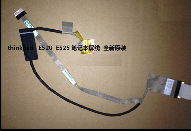 IBM Thinkpad E520 E525 50.4MI01.021 LED LCD Screen LVDS VIDEO FLEX Ribbon Connector Cable
