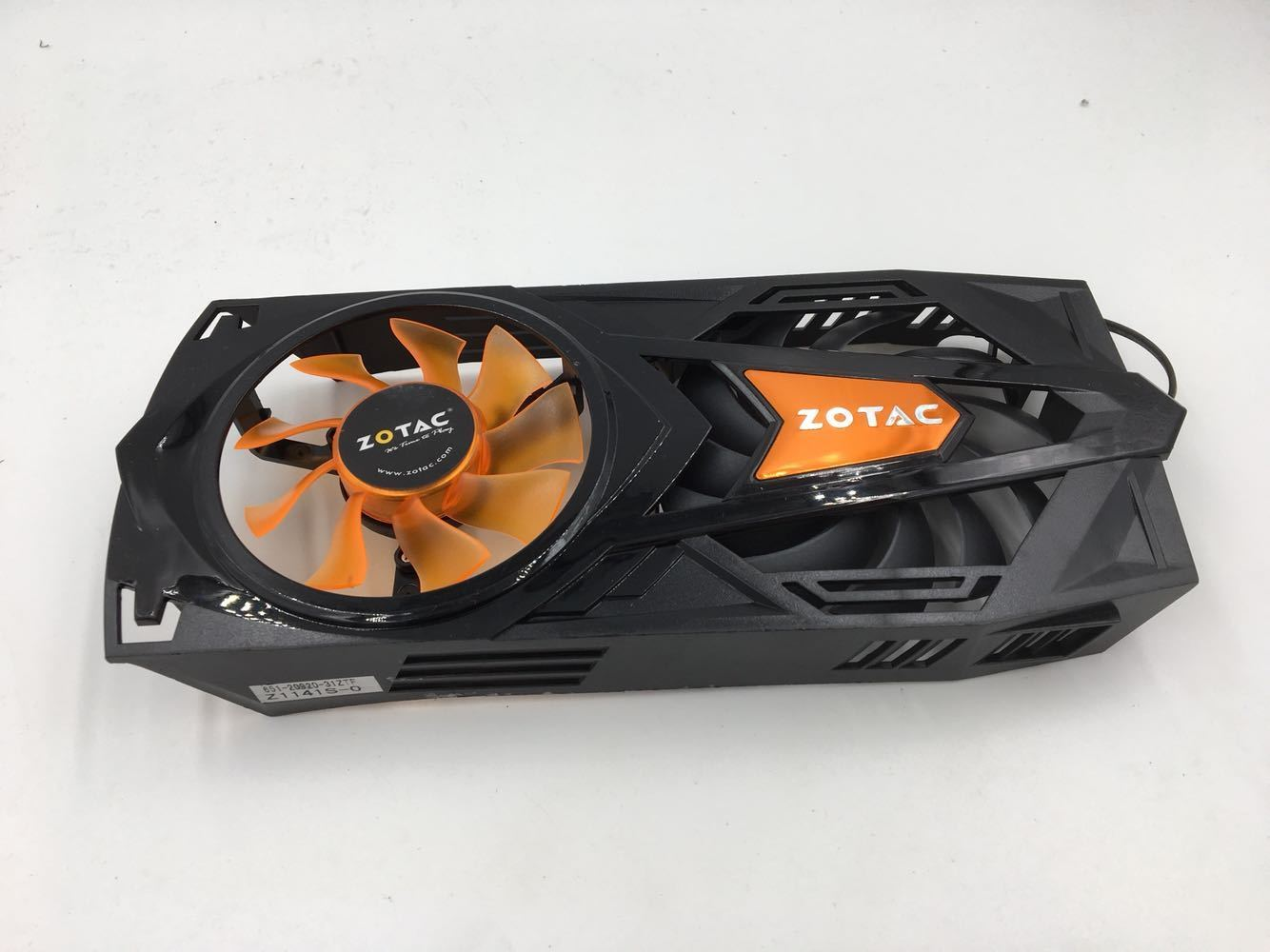New ZOTAC GTX560-1G D5 GTX560-1GD5 2GD5 DTC HA 651-20920-31ZTF FD9015U12S 4Pin Destroyer Graphics Card Cooling Fan