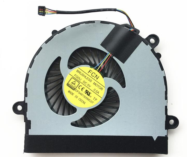Lenovo Ideapad S210 FCN FG0U DFS481305MC0T DC5V 0.5A 4pin 4wire CPU Cooling Fan