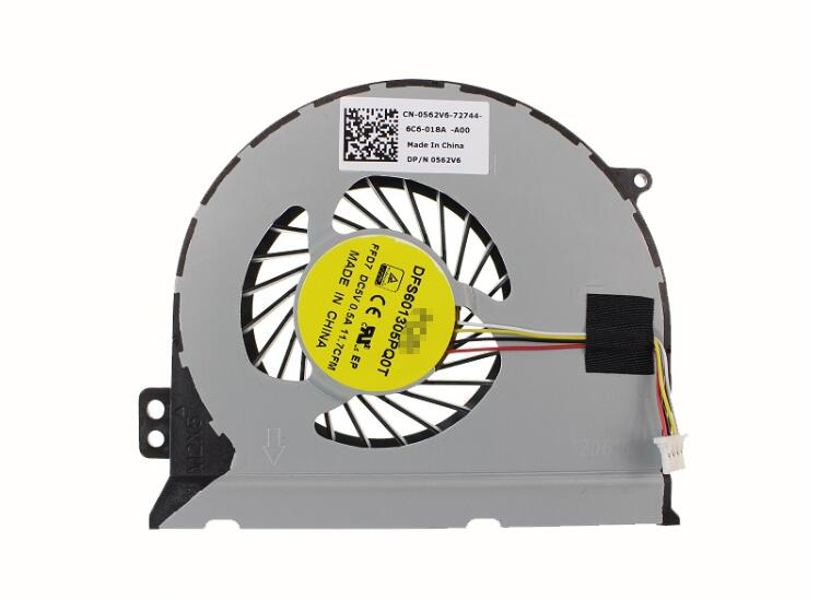 New DELL INSPIRON 14 14PR 7000 N7447 7447 14P-1548 1748 1848R 1548b 2648b 0562V6 DFS601305PQ0T FFD7 CPU Cooling Fan