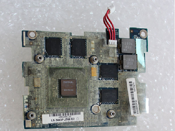 Toshiba Satellite X200 X205 ATI M76 256M K0000525120 K0000525130 LS-3443P VGA Video Graphic Card Display Board
