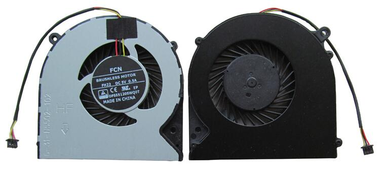 New MACHENIKE F57 F57-D5R D1 D1T D2 D3 N550RC FCN FH22 DFS551205WQ0T DC5V 3pin 3wire CPU Cooling Fan