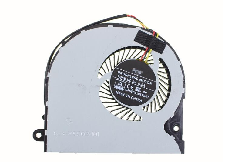 New HASEE Z7 Shinelon X6 PLUS Z7M G7 Z8 TERRANS FORCE T5 T5S FCN FG5B DFS501105FR0T 6-31-P6502-101 CPU Cooling Fan