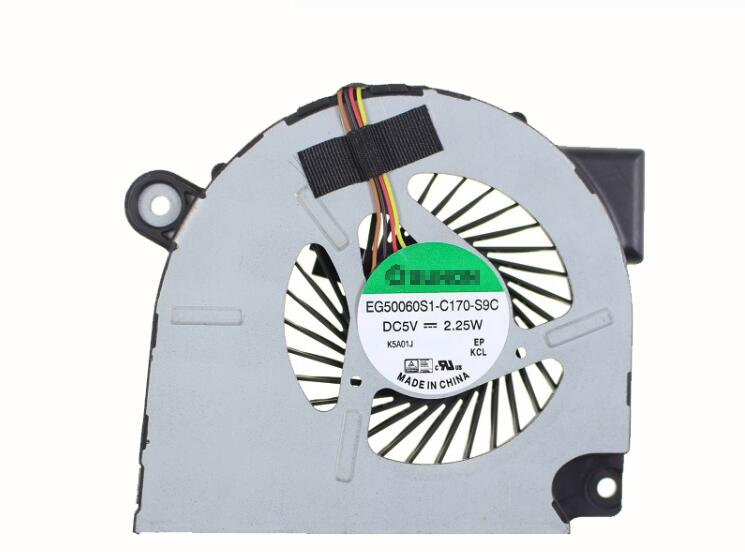 New Acer Travelmate P645 P645-M P645-MG For SUNON EG50060S1-C170-S9C DC28000FGS0 CPU Cooling Fan