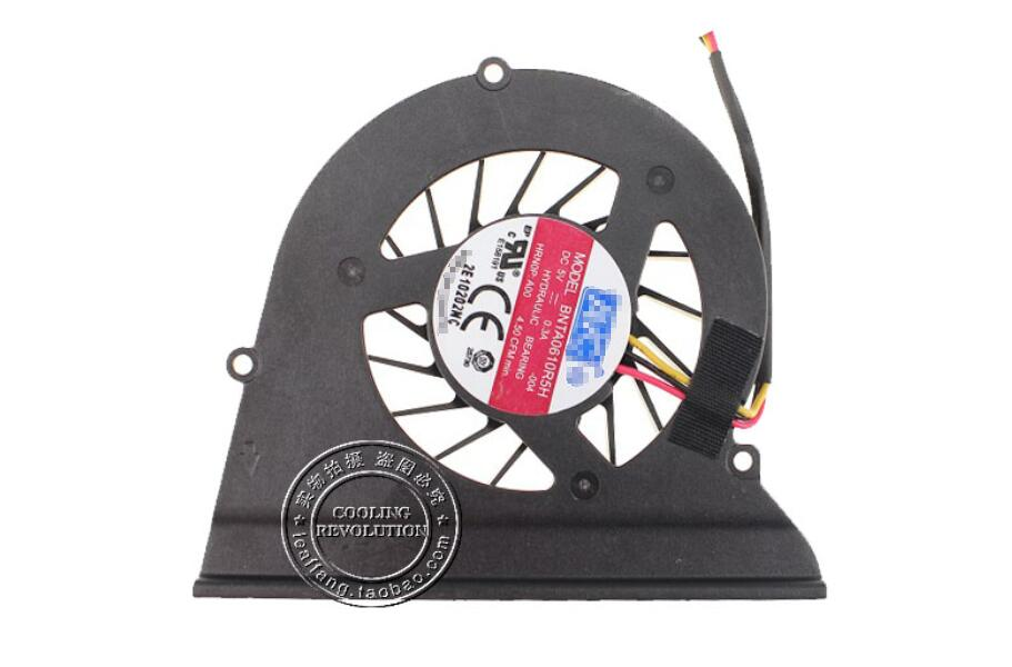New DELL Alienware M11X R1 R2 P06T AVC BNTA0610R5H 004 DC5V 0.3A 3Wire 3Pin CPU Cooling Fan
