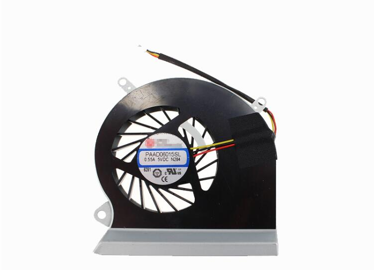 New MECHREVO X5 X5-LM01 MR X5-LH01 X5-LE01 AAVID THERMALLOY PAAD06015SL N284 0.55A 5VDC CPU Cooling Fan
