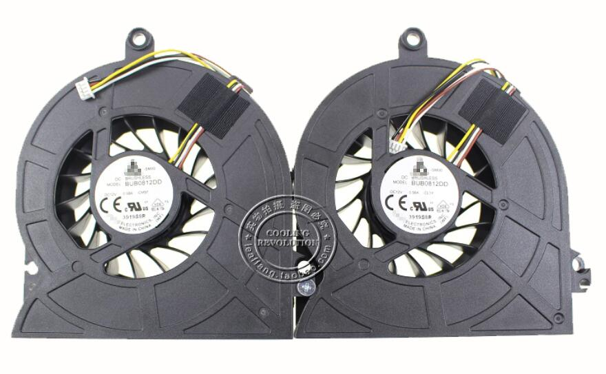 Set of 2pcs New Lenovo Ideacentre C560 G3220T AIO 90203581 BUB0812DD CM97 CL1Y DC28000DHD0 All In One PC Cooling Fan