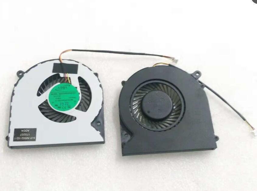 New MACHENIKE F57 F57-D5R D1 D1T D2 D3 N550RC ADDA AB07005HX080301 00N55 6-31-N5502-102-1 CPU Cooling Fan