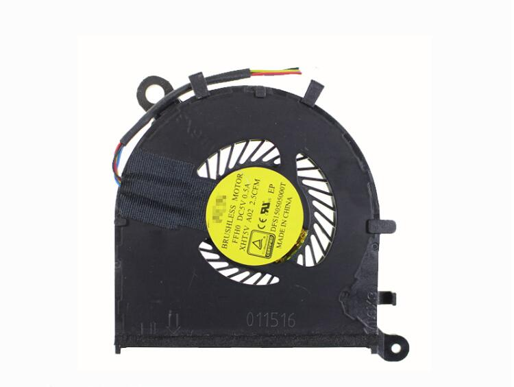 New Dell XPS 13 XPS13 9350 9343 9360 P54G 0XHT5V XHT5V DFS150505000T FFH0 DC28000F2F0 FCC20B CPU Cooling Fan