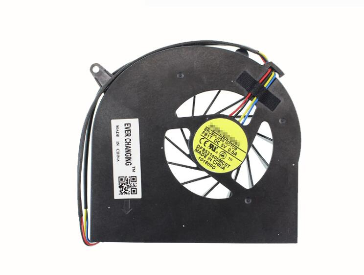New ASUS M60J M60 M60P M60WQ72J-SL FORCECON F81T DFS531405MC0T DC5V 0.5A 4-wire 4-pin CPU Cooling Fan