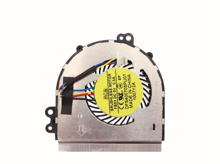 New HP EliteBook 2170p 2170 FCN FB83 DFS400705PU0T 23.00622.011 DC5V 0.5A 4-Wire 4-Pin CPU Cooling Fan