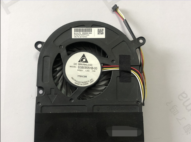 DELTA BSB0905HB-00 6033B0050601 CY8 DC5V 1.2A 4Wire 4Pin Cooling Fan