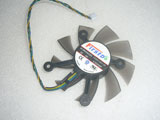 ASUS NVIDIA 9600 9800 GT250 GT240 GT640 GT450 Graphic Card FirstD FD8015U12D Cooling Fan