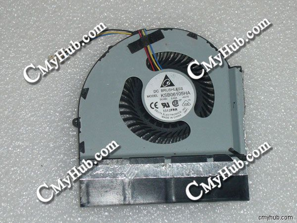 New IBM Lenovo Thinkpad W520 W 520 FRU 04W1574 Delta KSB06105HA AG10 AG06 BK1B 4Pin CPU Cooling Fan