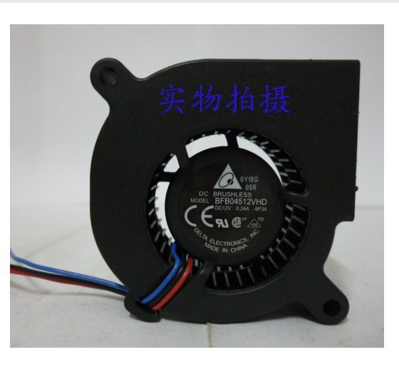 Delta BFB04512VHD F00 DC12V 0.24A 3Pin 3Wire 45*45*20MM Cooling Fan