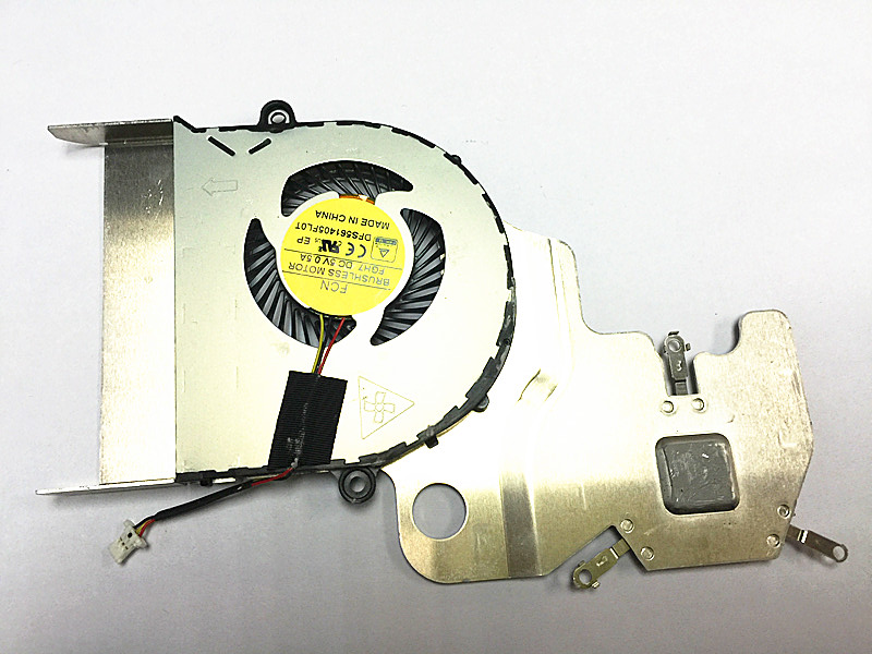 New FCN FGH7 DC5V 0.5A DFS561405FL0T CPU Heatsink Cooling Fan