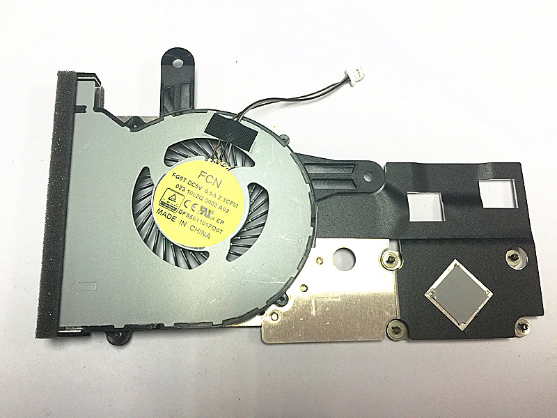 New Dell Inspiron 14 3452 3451 3451 FCN FG5T DC5V 0.5A 2.3CFM 023.10021.0002 A02 DFS501105FQ0T CPU Cooling Fan