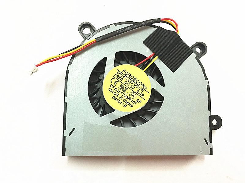 NEW MSI Megabook A6500 CR650 FX600 FX603 FX610 FX610MX GE620 GP60 CX61 FX620 16GH DFS451205M10T F98D Cooling fan