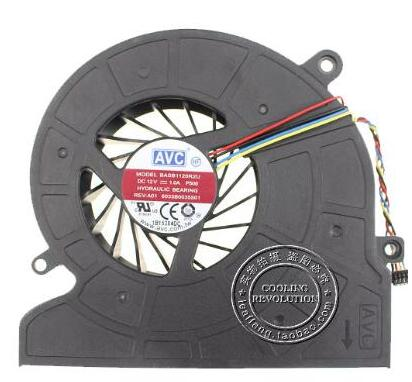 New For HP Pavilion 21 23 21-H H013W AIO 739391-001 BASB1120R2U P500 6033B0035501 Cooling Fan