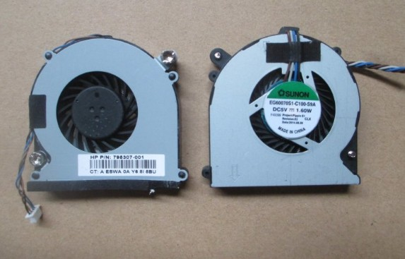 New For HP 260 G1 G2 DM PC SPS 795307-001 SUNON EG60070S1-C100-S9A 4Pin 4wire CPU Cooling Fan