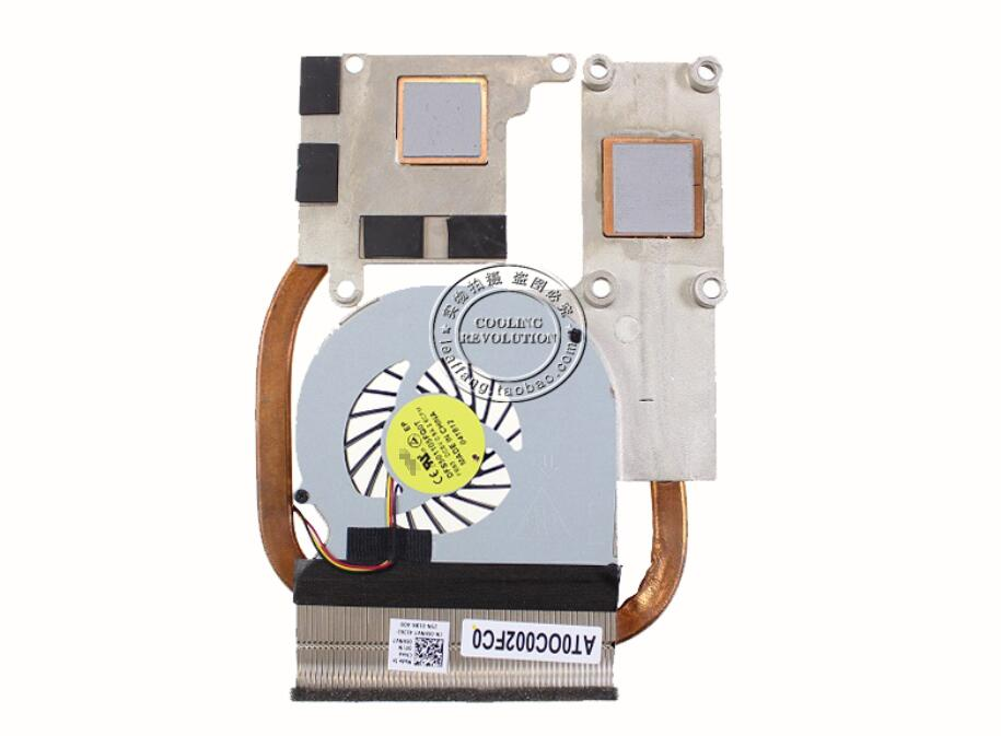 New For Dell VOSTRO 3560 Inspiron 15R 5520 5525 7520 06HNV7 0NPPGP AT0OC002FC0 DFS501105FQ0T FB93 CPU Heatsink Cooling Fan