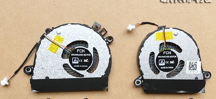 Set of 2pcs New Lenovo YOGA710 yoga 710 710-14isk 710-15IKB EG50040S1-C750-S99 EG50040S1-C760-S99 Cooling Fan