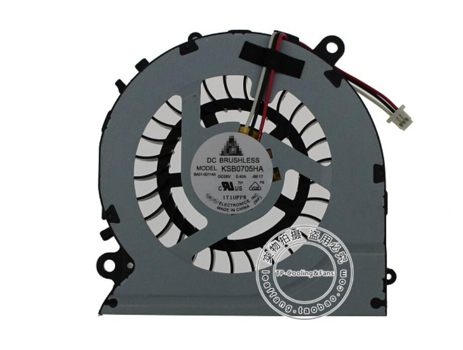 New Samsung NP700Z3AS06US np450r5v-eg2cn NP700Z3A NP700Z4C NP700Z3B NP700Z3C KSB0705HA BE17 BA31-00114A CPU Cooling Fan