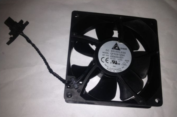 HP Z600 Delta QFR0812SH 8S30 SPS 495659-001 Workstation PC Computer Cooling Fan