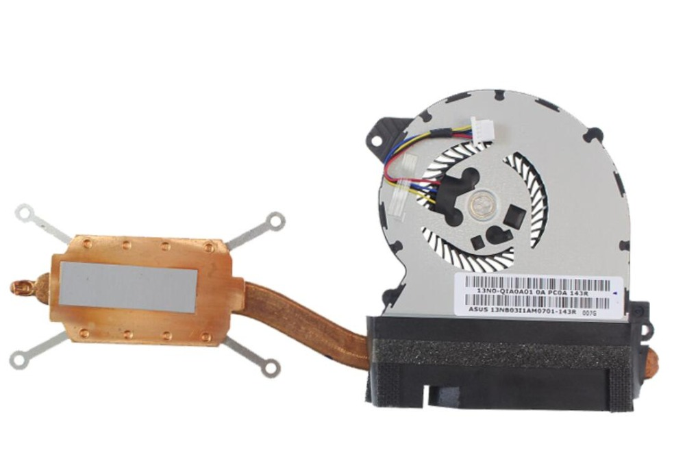 New ASUS TX201 TX201LA TX201LAF 11.6 inch E233037 UDQFRYH91DAS 13NB03I1AM0701 13N0-QIA0A01 CPU Heatsink Cooling Fan